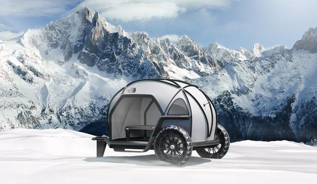 Futurelight Camper Concept, la mini-caravana de BMW que desafía a la lluvia y a la nieve