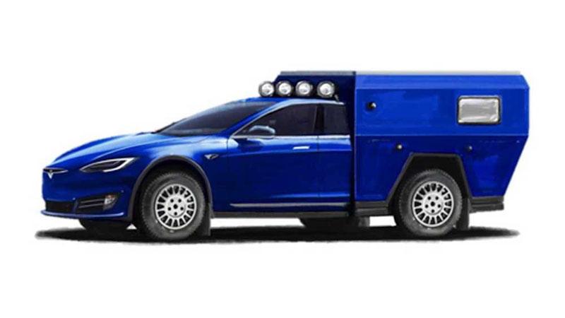 La semana que viene será presentada una autocaravana basada en el Tesla Model S