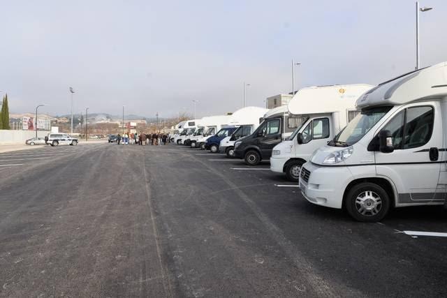 Zaragoza estrenará en breve un aparcamiento para autocaravanas
