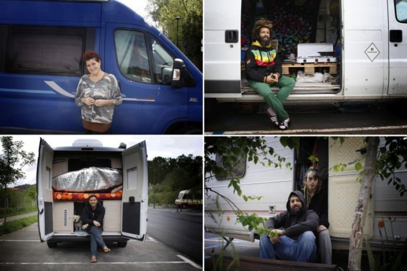 18.000 personas pasan la cuarentena por coronavirus en caravanas