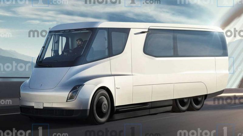 Tesla Motorhome, la autocaravana con superautonomía eléctrica